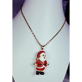 Collar De Santa Claus De 60 Centímetros Dorado.