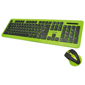 Combo Teclado Y Mouse Inalambrico Pc S5300 Noga