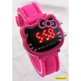 34297fe3208 Relogio Hello Kitty Bate Asinh - Relógios De Pulso no Mercado Livre ...