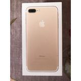 Iphone 7plus Gold 256gb