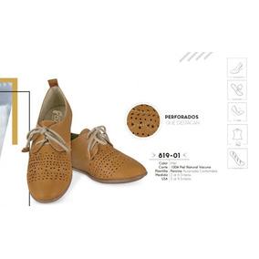 Zapato Color Miel Linea Confort 819-01 Cklass