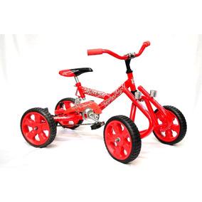 Cuatriciclo Con Suspensión Pedal A Cadena Kids Casa Valente