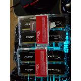 Memoria Ram Ddr3 Fury 1600mhz 8gb 4x2 - 1.650.000bsf