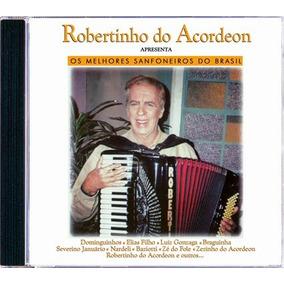 Robertinho Do Acordeon(apresenta M.sanfoneiros)cd Original