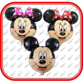 Globos Mickey Y Minnie Mouse De 64cm*61cm,cumpleaños,decora
