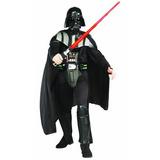 Disfraces Star Wars Darth Vader Deluxe Adulto De Rubie, Neg