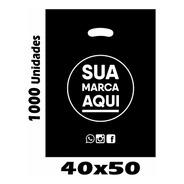 Sacolas Plásticas Personalizadas 40x50 1000 Un Promoção