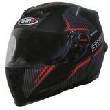 Casco Moto Shiro Sh-821 Advance 2 Negro Mate