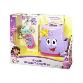 Mochila Aventuras Mágicas De Dora La Explorador Ficherprice