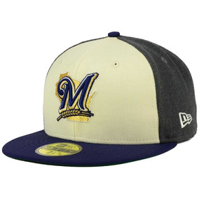 New Era Cerveceros Milwaukee Mlb Gorra 59fifty Classic 7 1 4 be918ac3232