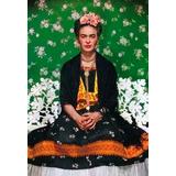 Chapa De Frida Kahlo De 33x48 Cm Para Decorar /pedi Catalogo