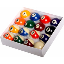 Bolas De Billar Pool Table Billiard Ball Set - Regulation Si