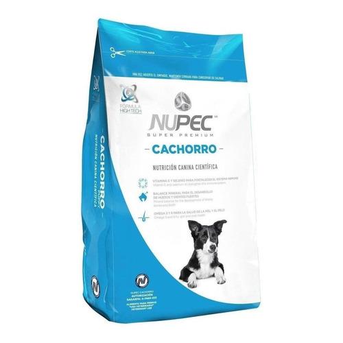 Alimento Nupec Nutrición Científica para perro cachorro de raza mediana/grande sabor mix en bolsa de 20kg