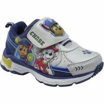Zapatillas Paw Patrol Luz Luces Disney Import Usa,v. Crespo