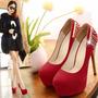Lindo Sapato Feminino Salto Alto Scarpin Festa Top Importado