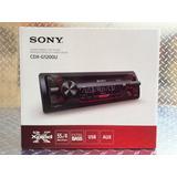 Auto Estereo Sony Cdx-g1200u Usb Cd Mp3 Aux Fm/am