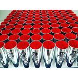 Kit 50 Copos Long Drink Metalizados 350ml Personalizados