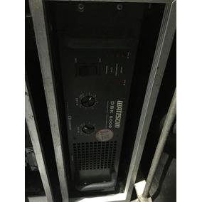 Amplificador Wattsom Dbk6000 Potencia