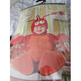 Disfraz De Lib Lobster Como Nuevo 18/24 Meses