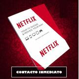 Netflix 1 Month Gift Cards Contas De Recarga - Envie Agora!