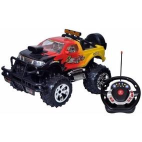 Camioneta Monster Rc Carro Control Remoto 4x4 Escala 1:16