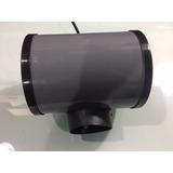 Motor Campana De Cocina Doble Turbina Metálica De 4 - 2 Años