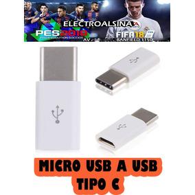 Adaptador Micro Usb A Usb Tipo C Merlo San Luis
