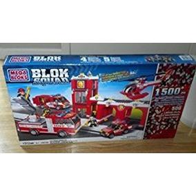 Juguete Mega Bloks Blok Parque De Bomberos 24038 Escuadra C