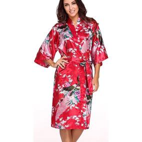 Kimono Feminino Japones - Moda Íntima e Lingerie no Mercado Livre Brasil d189251441e
