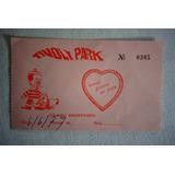 Tivoly Park Ingresso 1979