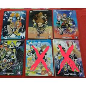 Mangá Avulso Kingdom Hearts 2 - Edições 1, 2, 3, 4, 5 E 7