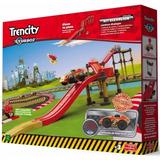 Trencity Turbo Kit Elevacion 38 Piezas Madera Plastico Lelab
