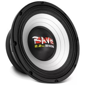 Alto Falante Woofer Bravox Rave Rv18-s4 2.2kw 18 1100w Rms