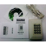 Controlador Acceso Rosslare Ac015 Con 2 Lectoras, Cable Md14
