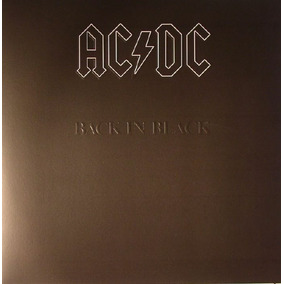 Ac/dc - Back In Black (vinilo Nuevo Sellado)