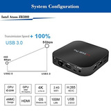 Wintel T8 Fanless Mini Pc Intel Cereza Trail Z8300 Quad C...