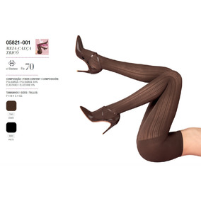 e75702f67 Meia Calça Fashion Trico Loba Lupo Fio 70 5821