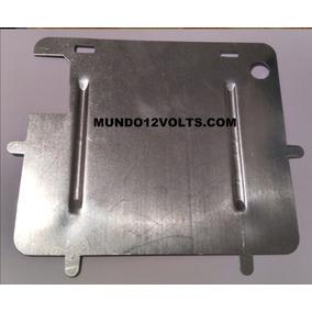 Moldura Suporte Placa Nova Grande 20 X 17cm Moto Ferro Metal