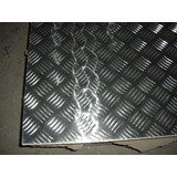 Lamina De Aluminio Soldable Estriada Cal 2mm 1.22x2,44