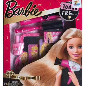Juguete Set Barbie Peluqueria Juguete Niña