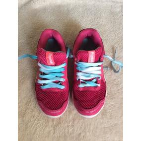 Zapatos Reebok Para Niña Talla 30.5, En Excelente Estado