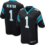 Camisa Nfl Cam Newton  01 Caroline Pantheon Preta Game a696573807c