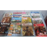 Lote De 15 Revistas De Decoración Nacionales E Importadas