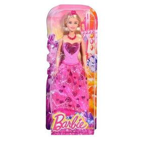 Barbie Reinos Magicos Surtido De Princesas Vestido Rosa