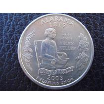 U. S. A. - Alabama, Moneda De 25 Centavos (cuarto) Año, 2003