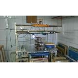 Máquina Serigráfica Semi-automática Cilíndrica E Plana