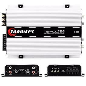 Módulo Amplificador Digital Taramps Ts400x4 Canais 400 W Rms