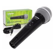 Microfono Shure Sv100 Con Cable Canon Plug Garantia Oficial