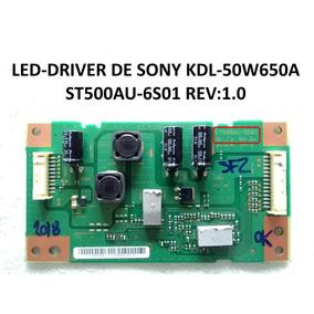 Tarjeta Led Driver St500au-6s01 Rev:1.0 De Sony Kdl-50w650a