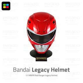 [usado] Bandai® Capacete Power Rangers Legacy Helmet Usa